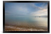 East Mersea Light, Framed Print
