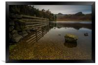 Blea Tarn Little Langdale the Lake District , Framed Print