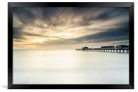 into the sea, Framed Print