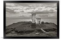 Elie Lighthouse, Framed Print