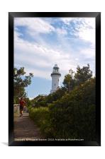 Cape Byron Lighthouse , Framed Print
