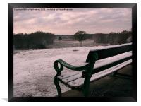 A Frosty Morning (3), Framed Print