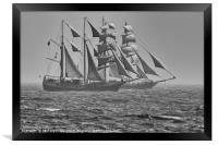 Tall Ships in Torbay, Framed Print