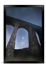 Orion from Ribblehead Viaduct, Framed Print