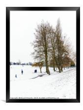 Snow, Framed Print