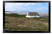 Thatched cottage, Framed Print