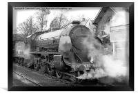 North Yorkshire Moors Railway #2, Framed Print