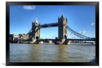 Tower Bridge 3, Framed Print