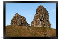 Christchurch Castle, Framed Print