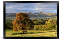 Pen y Fan and Cribyn, The Brecon Beacons 2., Framed Print