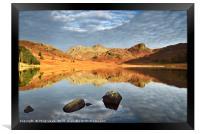 Dawn at Blea Tarn, The Lake District., Framed Print