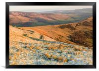 Peak District from Mam Tor, Framed Print