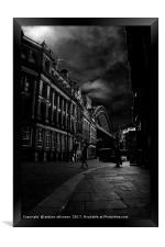 The Quayside Newcastle, Framed Print