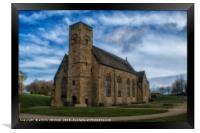 St Peter's Church Sunderland, Framed Print