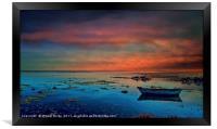 Algarve Secret Places - Ria Formosa - Portugal, Framed Print