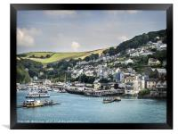 Ferries and Steam Trains  , Framed Print