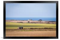 The Linesman's Hut Weybourne, Framed Print
