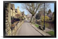 Bourton-on-the-Water , Framed Print