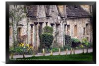 Bibury Arlington Row  The Cotswolds, Framed Print