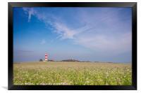 Happisburgh Lighthouse, Framed Print
