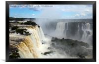 Iguazu Falls, Brazil, Framed Print