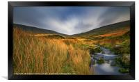 Evening in Brecon Beacons, Framed Print