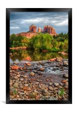 Cathedral Rock, Framed Print