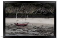 The little boat, Framed Print