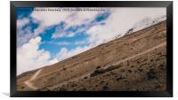Cotopaxi Volcano, Ecuador, Framed Print