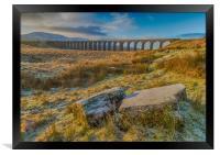 Ribblehead Viaduct Sunrise, Framed Print