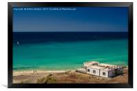 Esquinzo Beach, Fuerteventura, Framed Print