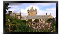 Cawdor Castle and gardens, Scotland, Framed Print