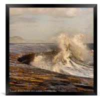 Wave Attack, Framed Print