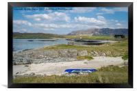 Portnaluchaig, Arisaig West Highlands., Framed Print