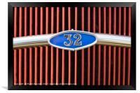 32 Ford, Framed Print