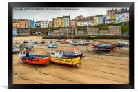 Tenby Harbour, Framed Print