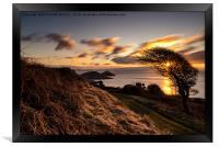 Mumbles Head Sunrise, Framed Print