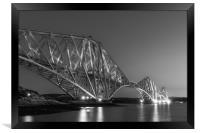 The Forth Bridge, Framed Print
