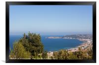 View to Javea, Framed Print