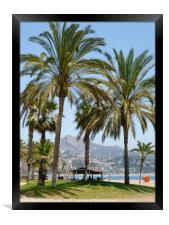 Beach View, Framed Print