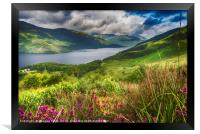 Loch Lomond from the Slopes of Ben Lomond, Framed Print