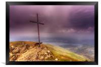 The Cross, Ben Ledi, Scotland, Framed Print