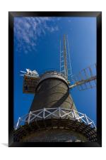 Bircham Windmill, Framed Print
