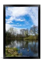 Poynton Park, Framed Print