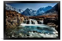 Fairy Pools, Isle of Skye., Framed Print