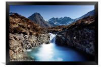 Fairy Pools, Isle of Skye. No.2, Framed Print