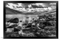 Llynnau Mymbyr, Framed Print
