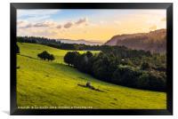 Waihoanga Creek view, Framed Print