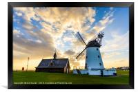Windmill and OldLifeboat House, Framed Print