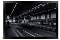 Tunnel Trails, Framed Print